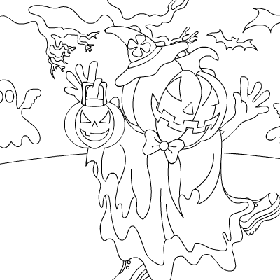 Halloween Coloring Games | Coloring Pages To Print