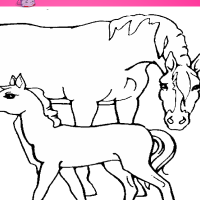 Horse Coloring Games | Coloring Pages To Print