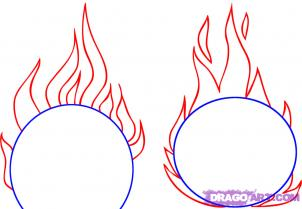 flames coloring pages Coloring Pages Ideas