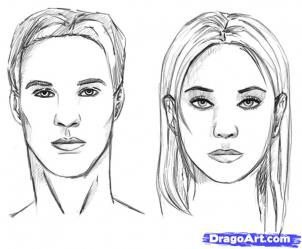 how to draw realistic people 12 - Coloring Pages People Realistic
