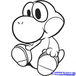 How To Draw Yoshi 5