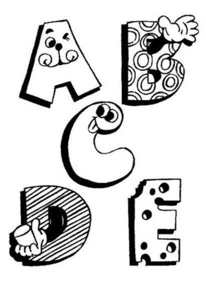 ABC Coloring Pages 2   Coloring Pages To Print