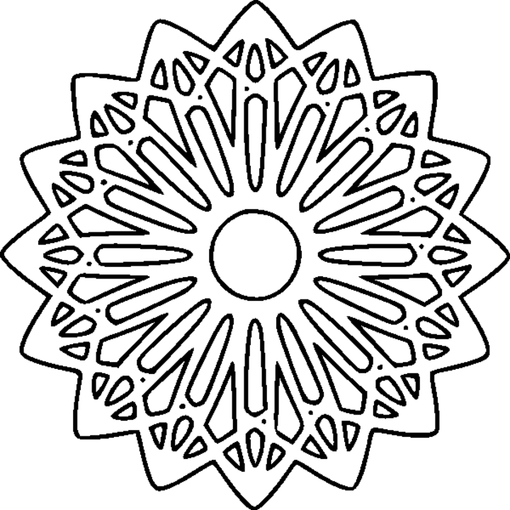 hard abstract coloring pages for adults