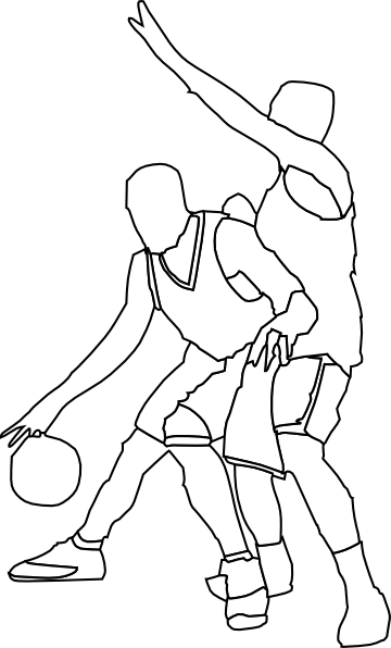 basketball coloring pages 2 | coloring pages to print - Basketball Coloring Pages Print