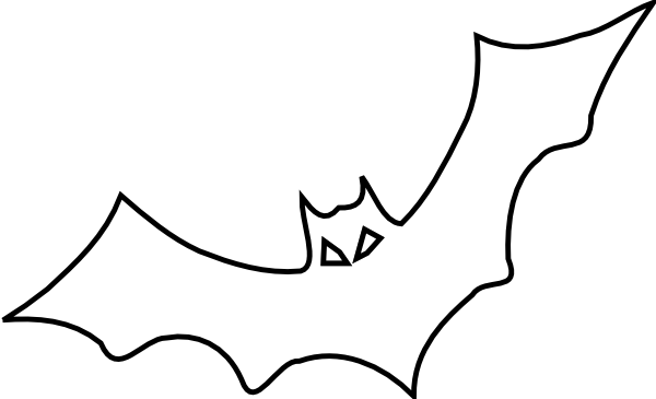 bat coloring pages 3 - Coloring Book Pages 2