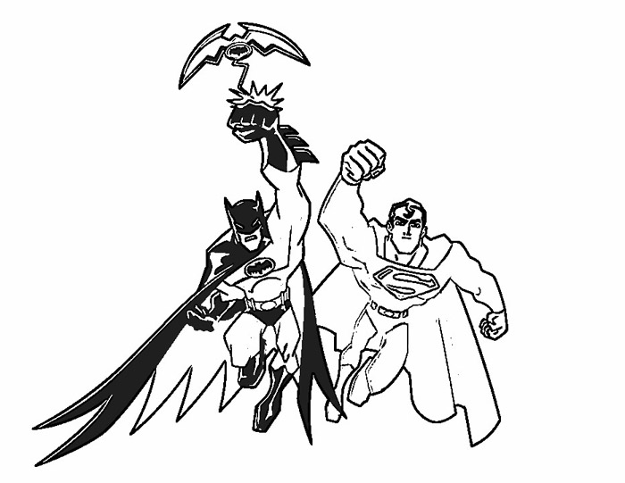 Batman Coloring Pages To Color Coloring Pages