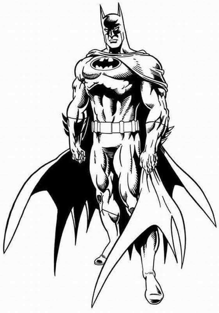 batmans coloring pages - photo#17