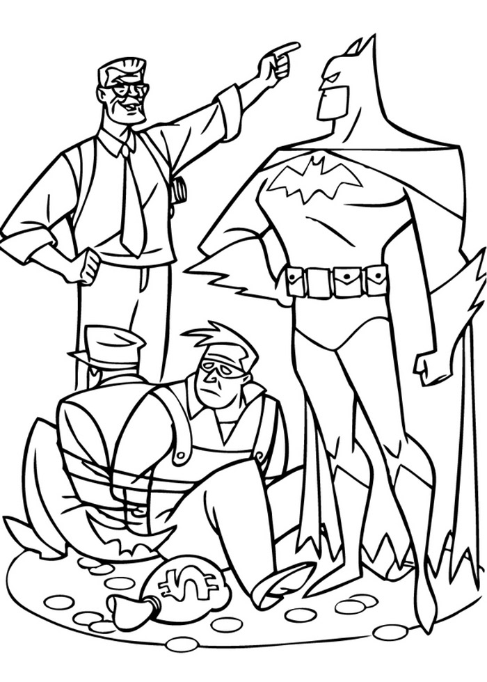 Batman Coloring Pages 9