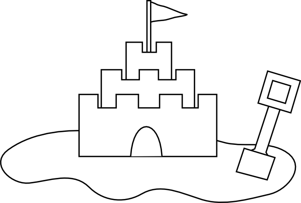 beach coloring pages 3