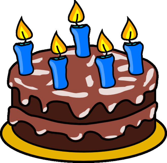 Clipart Picture Of Cake : Birthday cake clipart Coloring Pages To Print