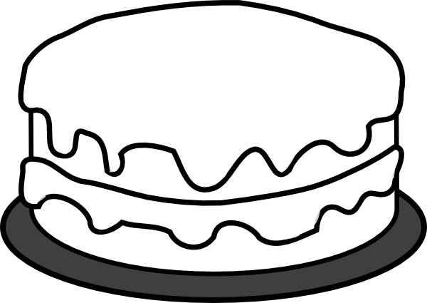 Pictures Of Cake To Colour In : Birthday Cake Coloring Pages Coloring Pages To Print
