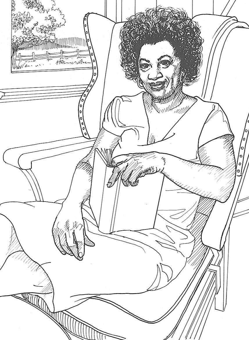 black american coloring pages - photo#7
