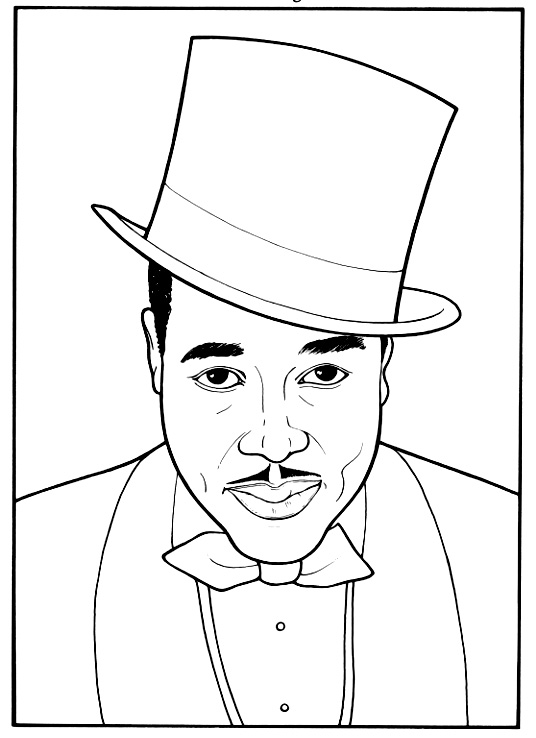 free printable black history coloring pages - black history coloring pages coloring pages to print