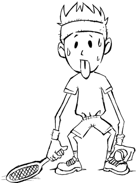 a boy coloring pages - photo #18
