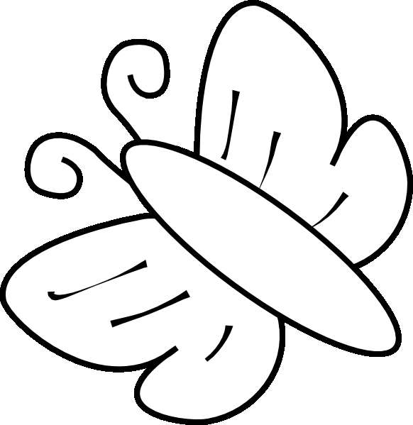 Butterflies Coloring Pages 2