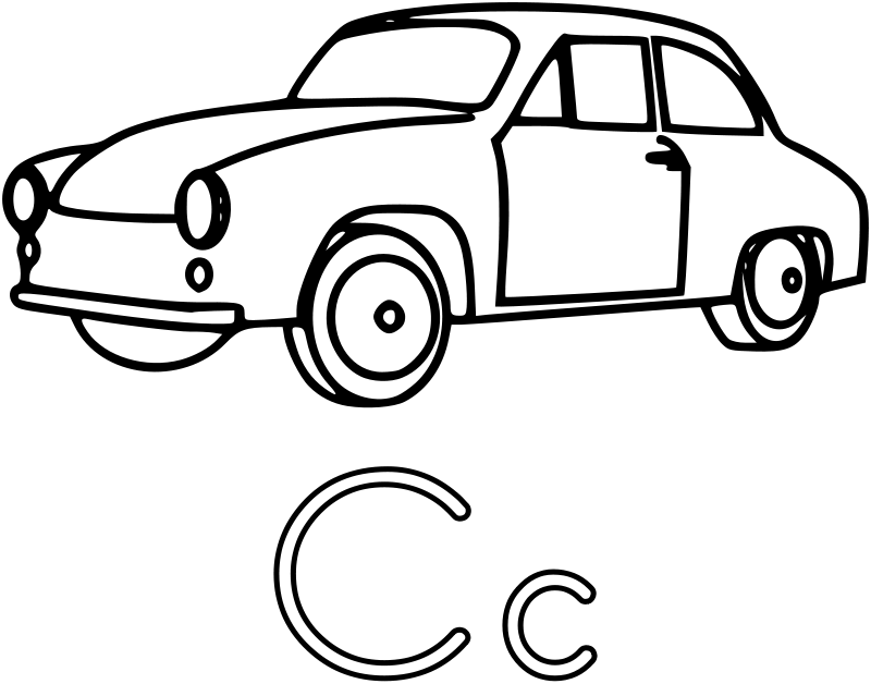 Car Coloring Pages 3