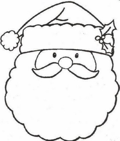 christmas coloring pages free 4 - Free Christmas Coloring Pages