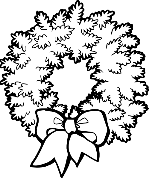 Christmas Decorations Coloring Pages To Print Printable Coloring Pages Decorations