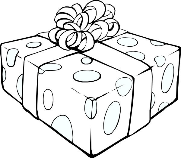 christmas presents coloring pages to print