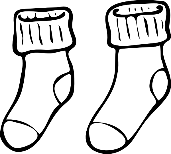 christmas stockings 2 - Christmas Stockings Coloring Pages 2