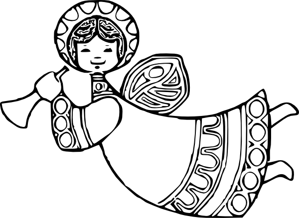 Christmas Tree Decorations Coloring Pages To Print