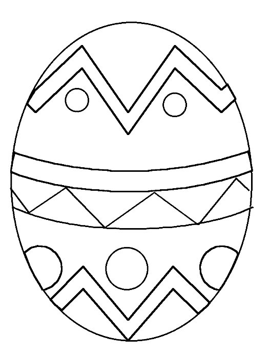 Coloring Easter Eggs | Coloring Pages To Print