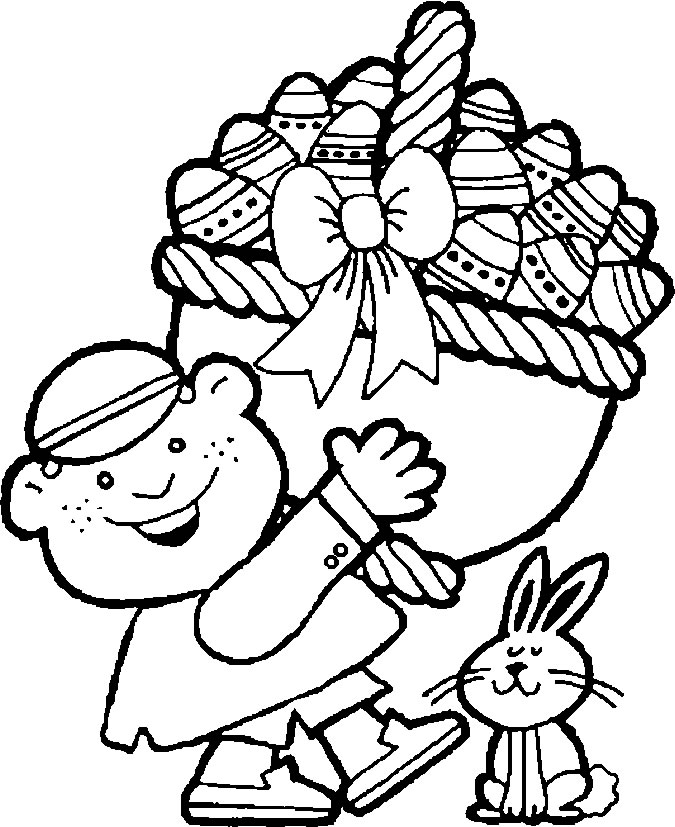 coloring easter eggs coloring pages to print