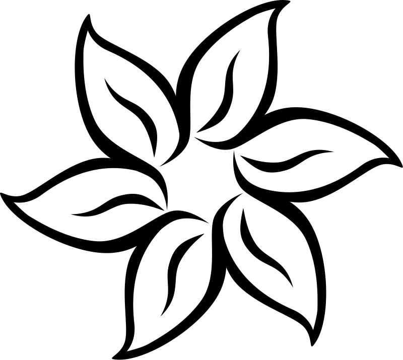 coloring pages of flowers 5 - Color Pages Of Flowers