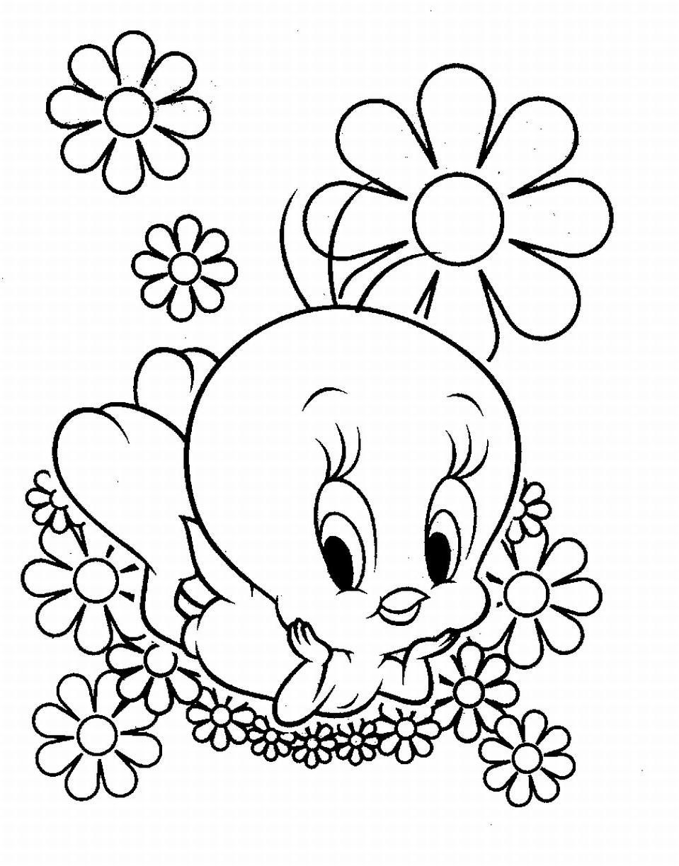 tweety bird printable coloring pages | Coloring Pages of Tweety | Coloring Pages To Print