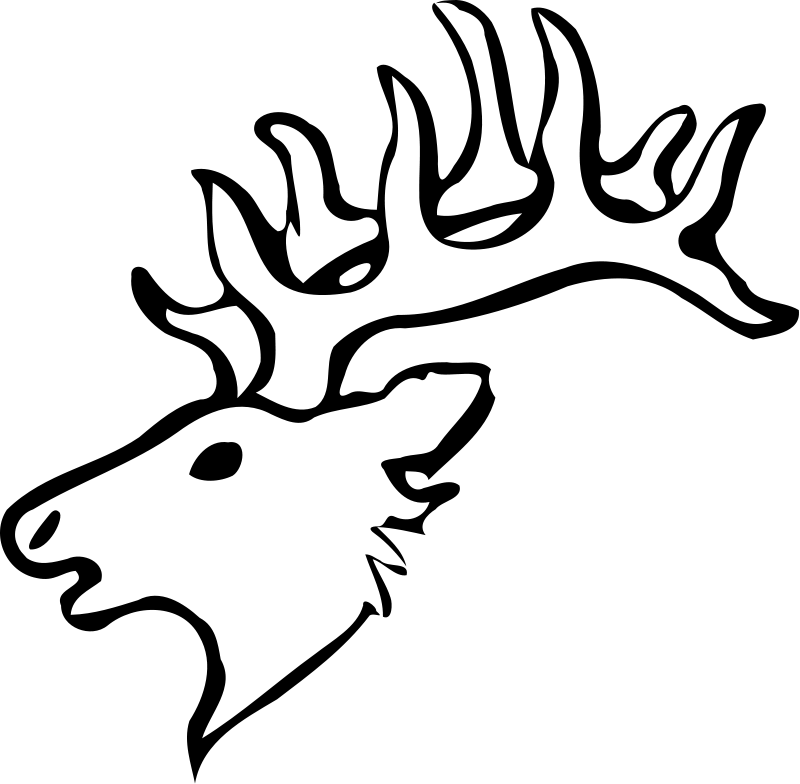 Deer Coloring Pages 2 Coloring