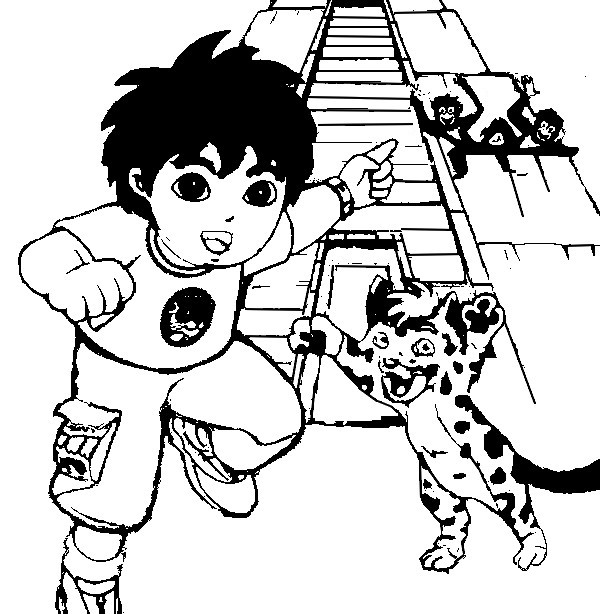 Diego Coloring Pages | Coloring Pages To Print