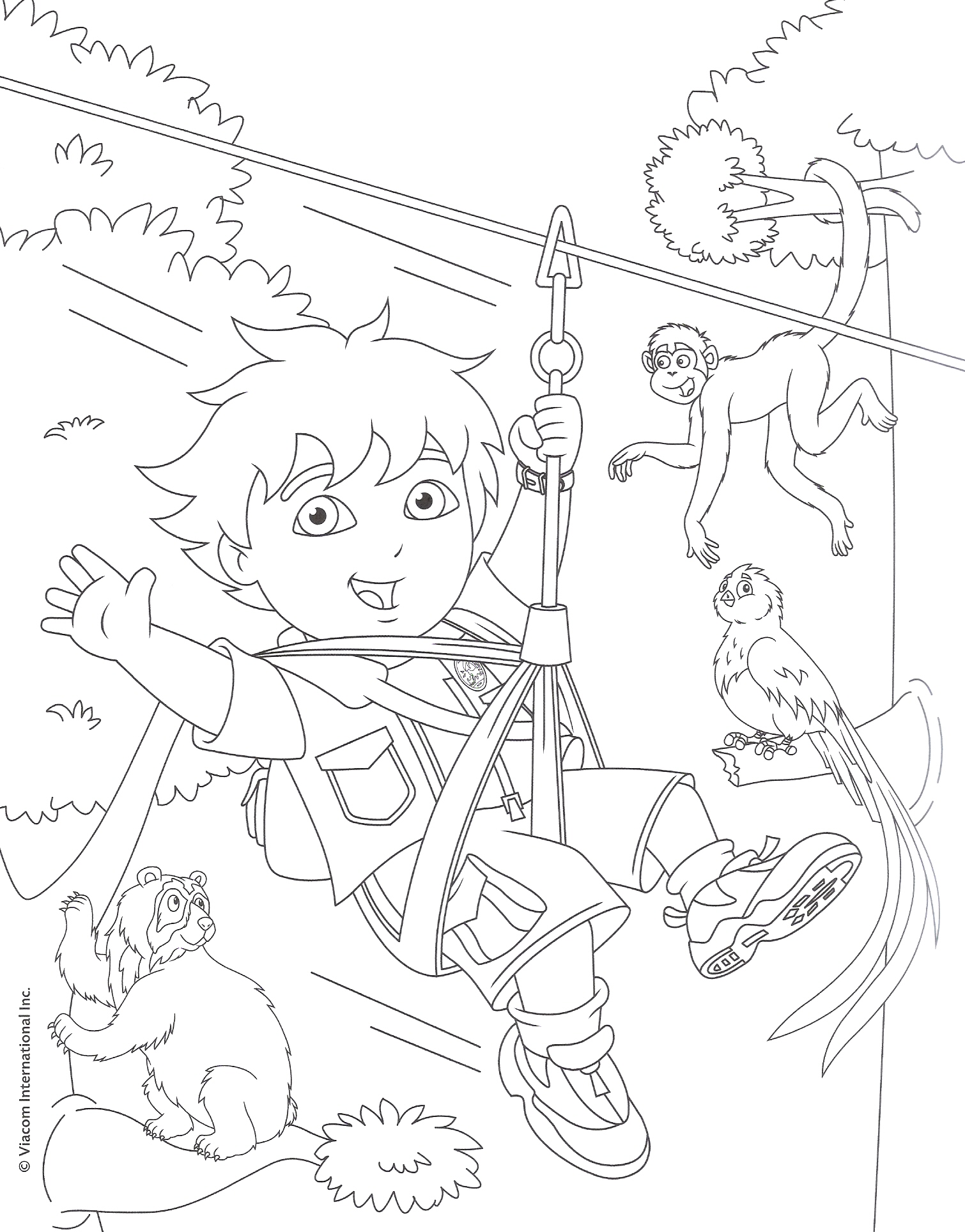 deigo coloring pages - photo#34