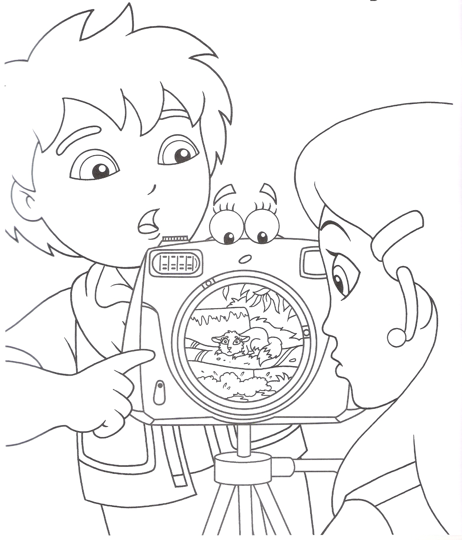 Diego Coloring Pages Coloring Pages To Print Diego Coloring Pages