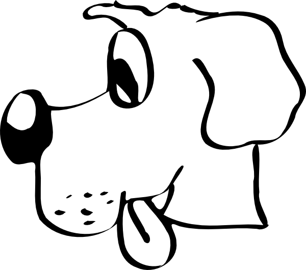 Dog Head Coloring Pages Dogs Coloring Pages Dogs