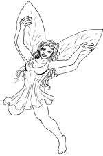 Fairy Coloring Pages on Fairy Coloring Pages   Coloring Pages To Print
