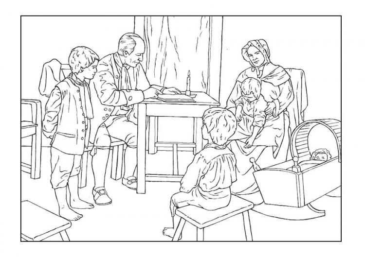 Family Coloring Pages | Coloring Pages To Print