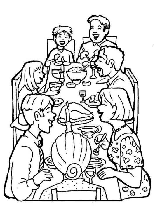 family coloring pages 5