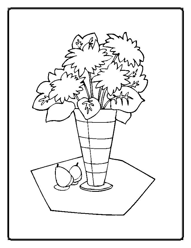 coloring pages. flower coloring pages 12