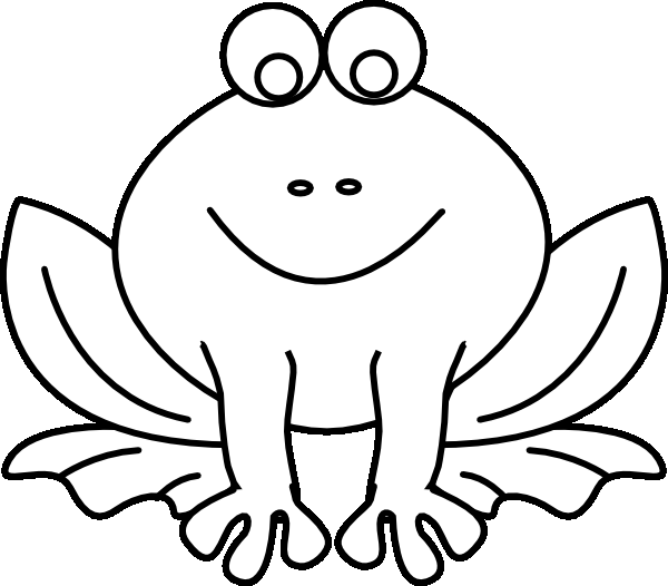 cartoon frog coloring pages - photo#22