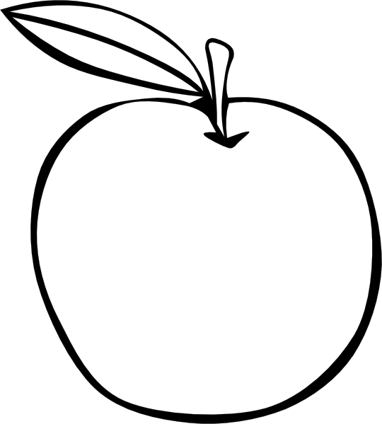 fruit coloring pages free - photo#34