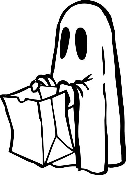 Ghost Coloring Pages 3