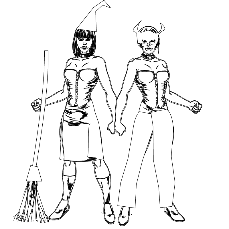 Scary Halloween Coloring Pages Adults : Halloween coloring pages 3 to print
