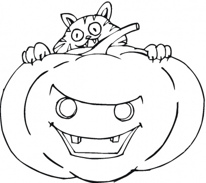 Halloween Coloring Pages  Kids on Halloween Coloring Pictures 3 Jpeg