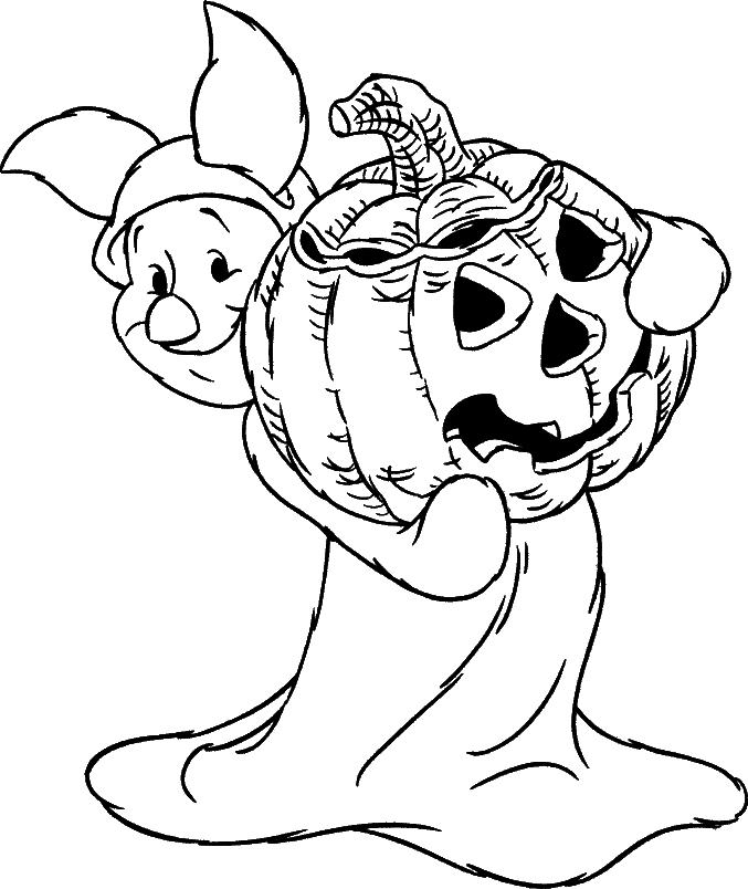 halloween coloring pictures 4 - Halloween Coloring Pages Printable