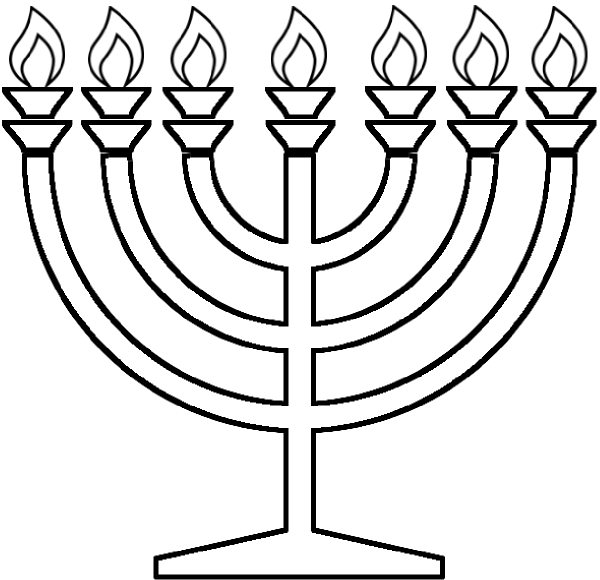Hanukkah Coloring Pages 2