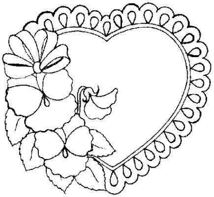 Coloring Book Pages on Heart Coloring Pages 2 Coloring Pages To Print