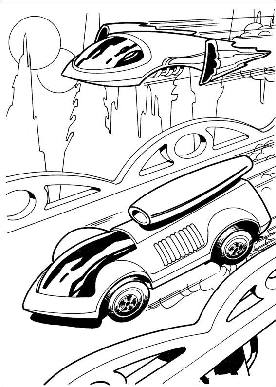 hot wheel coloring pages - photo#24