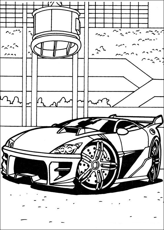 hot wheel coloring pages - photo#34