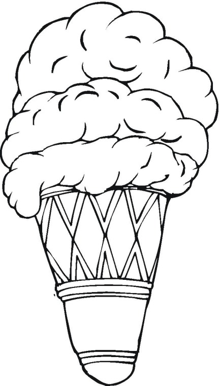 Ice Cream Coloring Pages 3