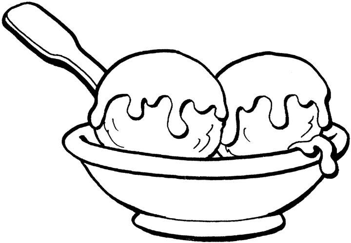 Ice cream coloring pages coloring pages to print for Free coloring pages of ice cream